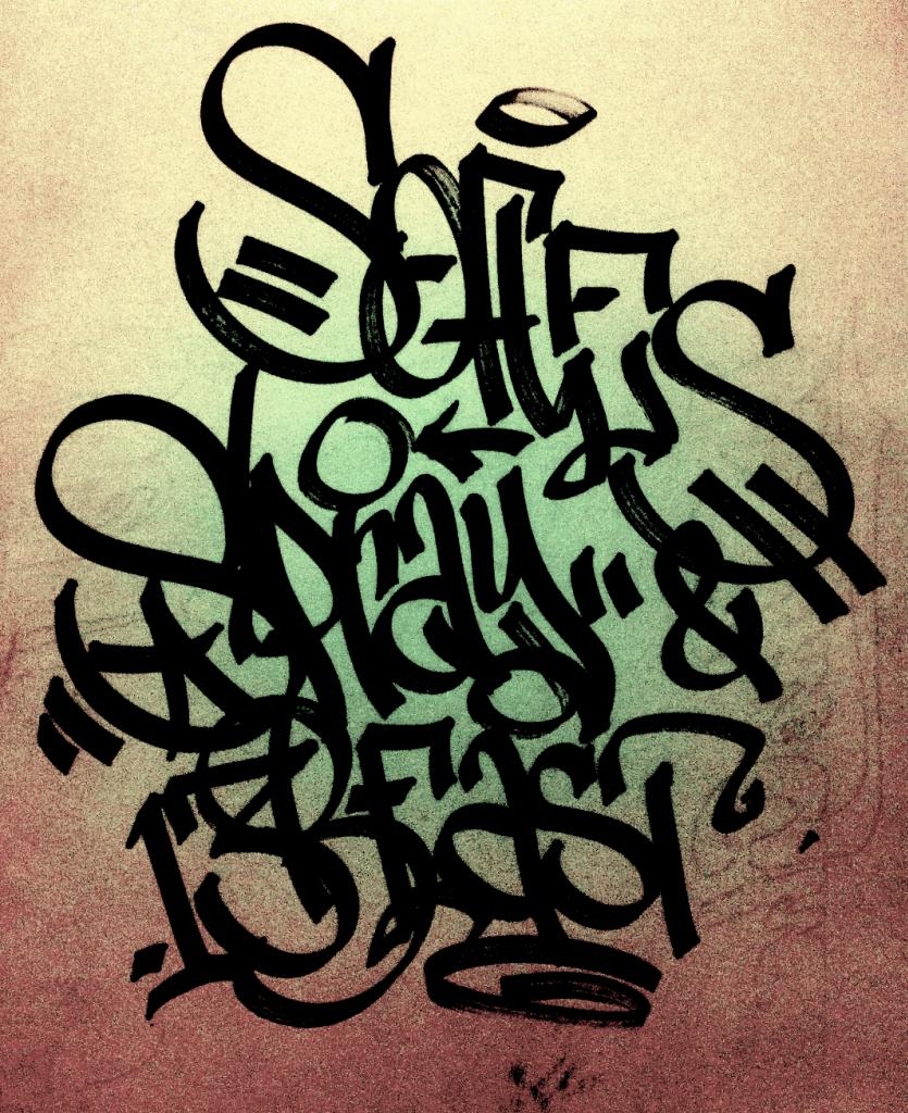 TAGS comprende el escalón mas bajo de los graffitis, por su poca complejidad y sencillez y, sobre todo, por su escaso tiempo de elaboración que requiere.